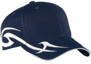 Racing Cap with Sickle Flames. C878