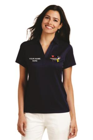 Ladies Performance Fine Jacquard Polo L528
