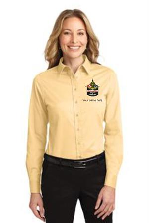 Ladies Long Sleeve Easy Care Shirt. L608