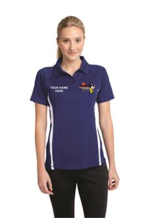 Micro-Mesh Colorblock Polo for Ladies LST685