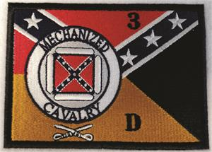 "Mechanized Cavalry Large Patch 10.0"" X 7.2"""