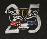 25 Year Corvette Club of Orlando Logo