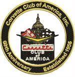 60th Anniversary CC of America Logo