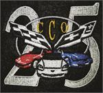 25 Years Corvette Club of Orlando logo
