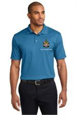 Performance Fine Jacquard Polo. K528