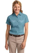 Ladies Short Sleeve Easy Care Shirt. L508