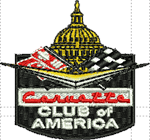 Standard left chest CC of American  logo
