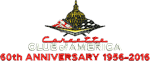 60th Anniversary CC of American logo for front of cap